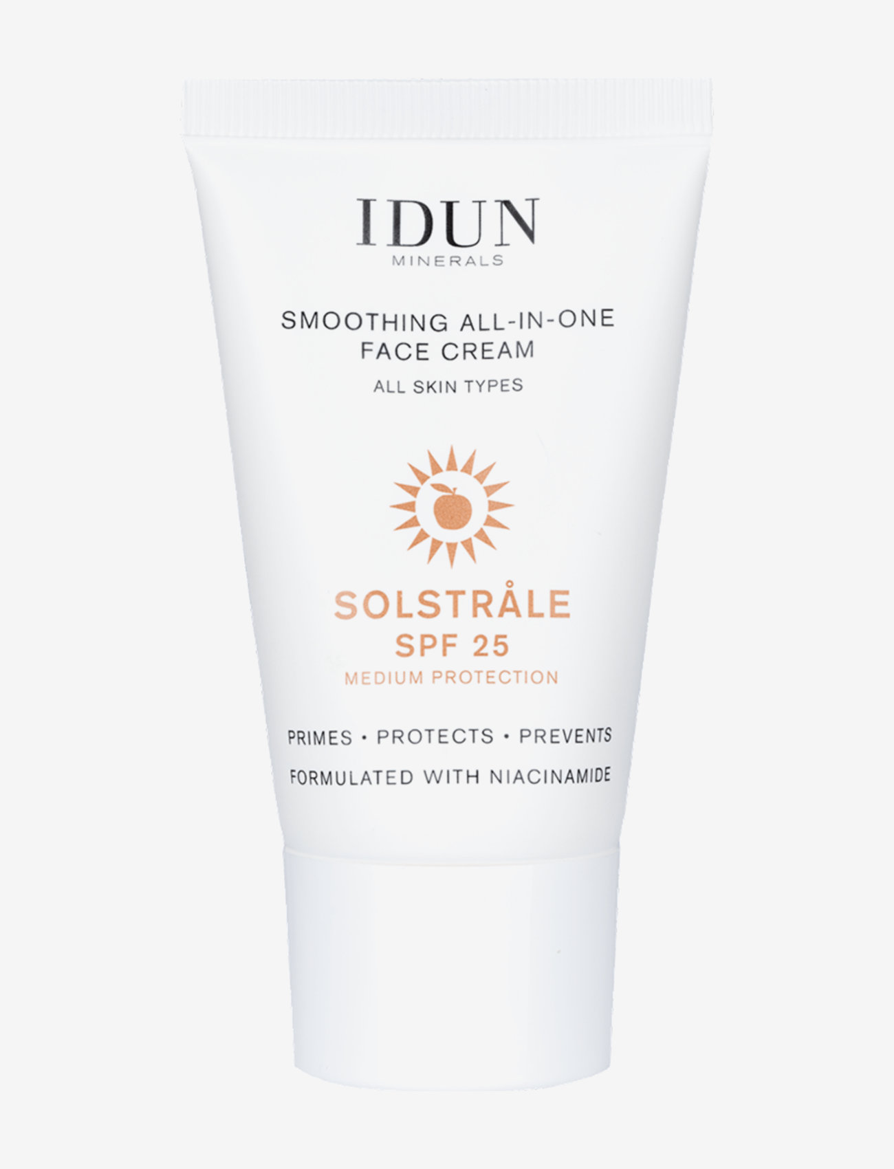 IDUN Minerals - Solstråle All-In-One Face Cream SPF25 - kasvot - clear - 0