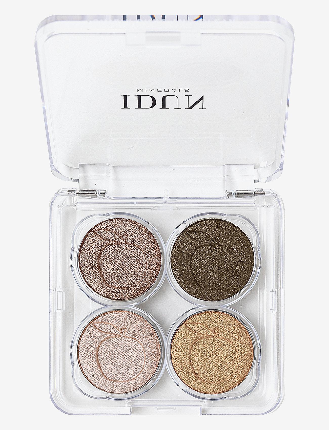 IDUN Minerals - Eyeshadow Brunkulla palette - Ögonskuggspalett - multicolor - 0