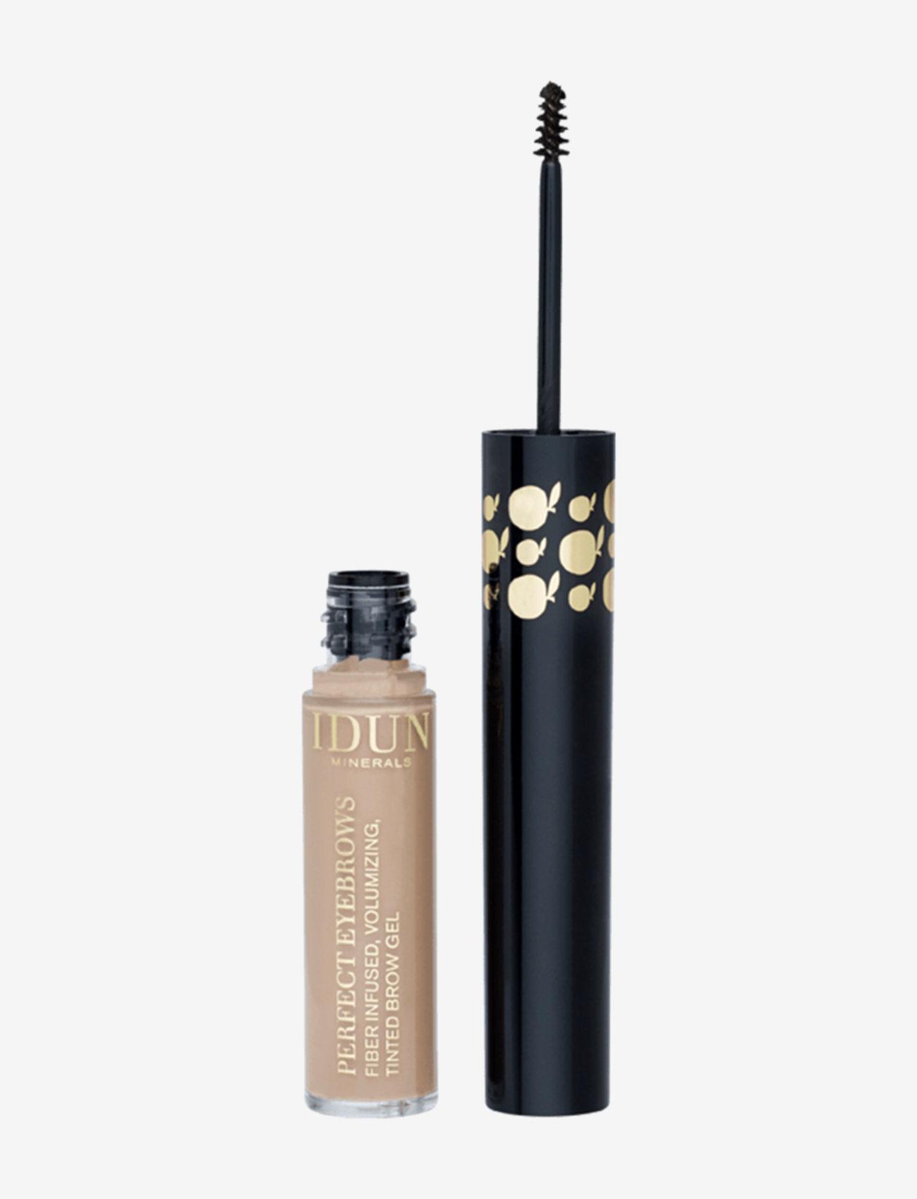 IDUN Minerals - Eye Brow Gel Perfect Eyebrows light - Øjenbrynsgel - light - 0