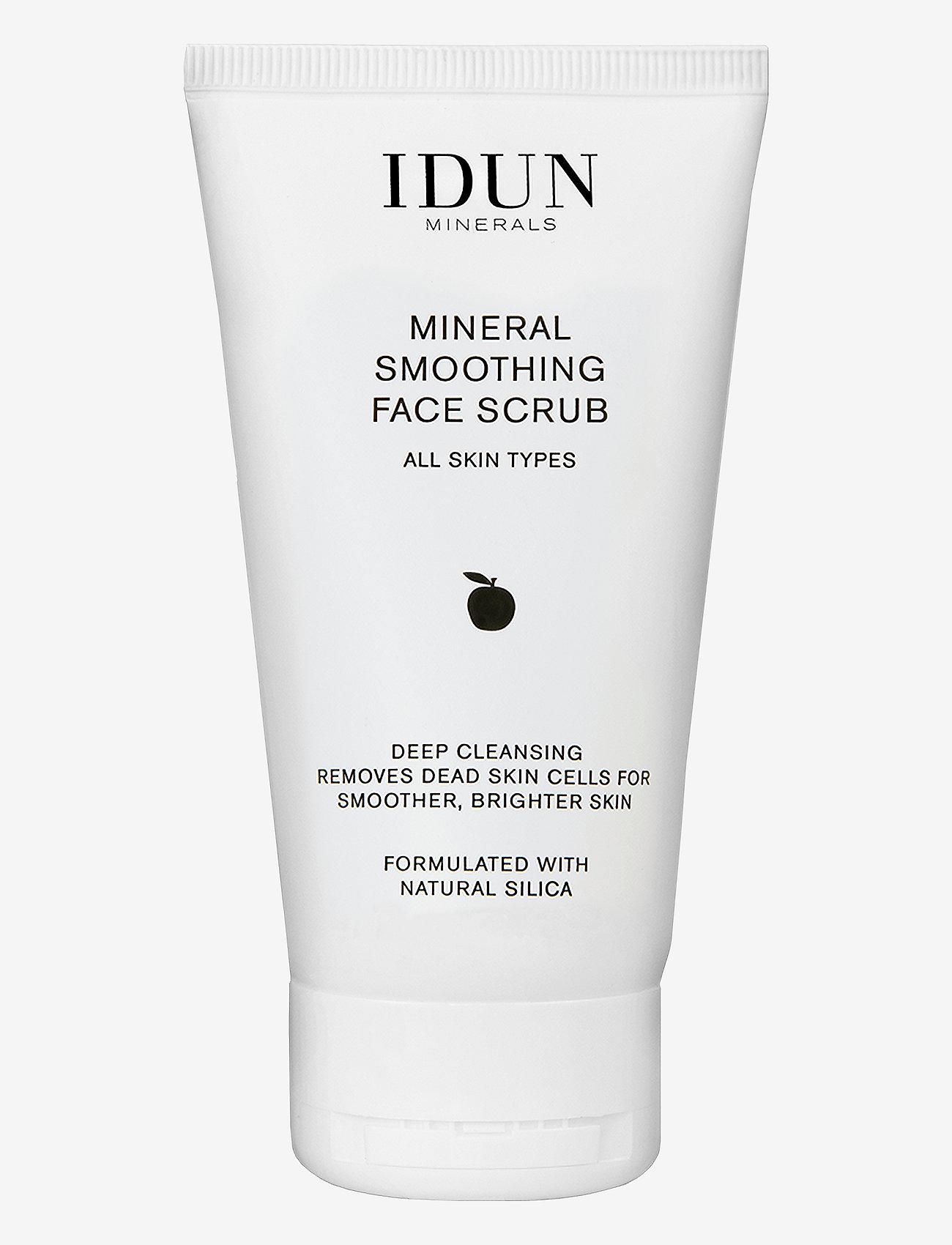 IDUN Minerals - Smoothing Face Scrub - kuorinta - clear