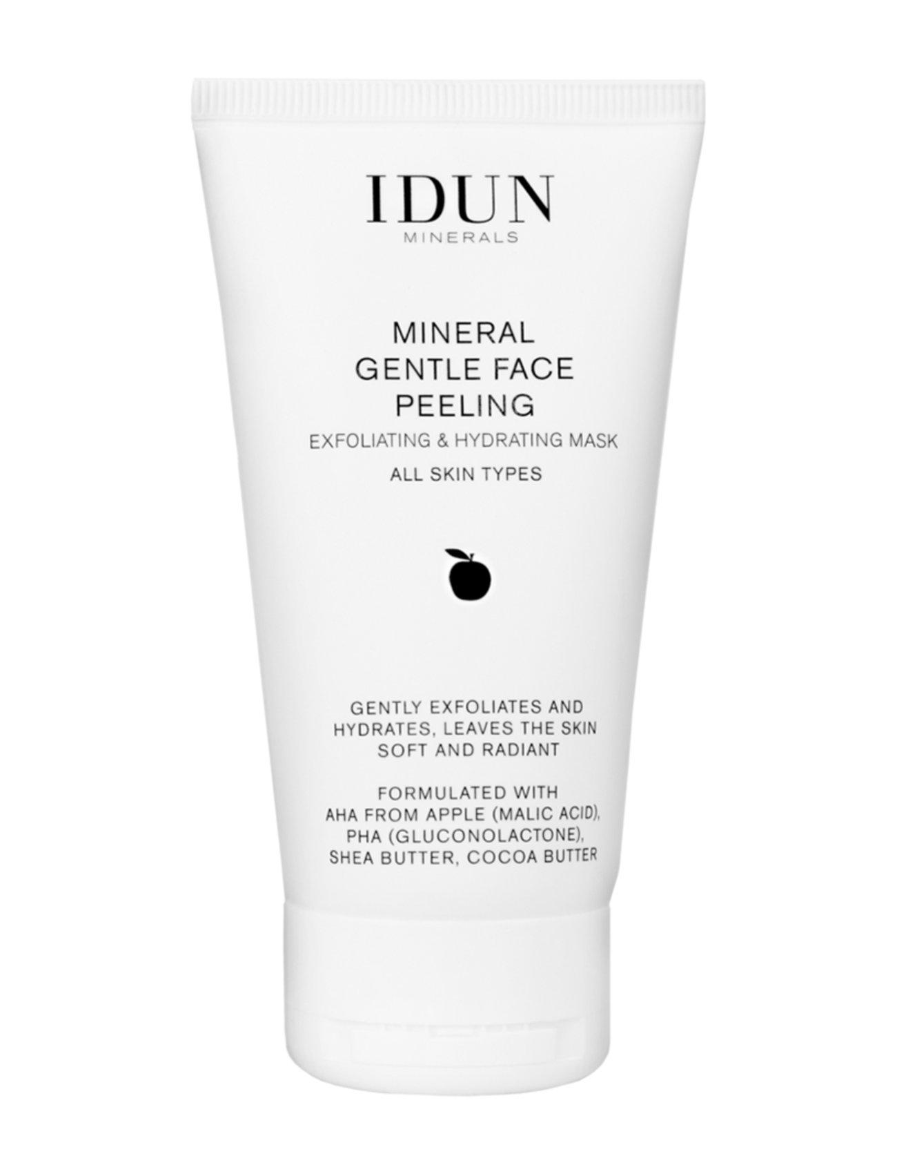 Image of Gentle Exfoliating Cream Beauty WOMEN Skin Care Face Peelings Nude IDUN Minerals (3252227053)