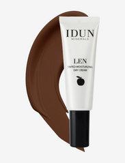 IDUN Minerals - Tinted Day Cream Len, Deep - bb & cc creme - deep - 0
