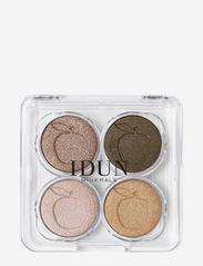 IDUN Minerals - Eyeshadow Brunkulla palette - Ögonskuggspalett - multicolor - 1