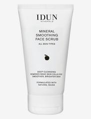 IDUN Minerals - Smoothing Face Scrub - kuorinta - clear - 0
