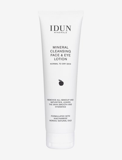 Mineral Cleansing Face & Eye Lotion - makeupfjerner - clear