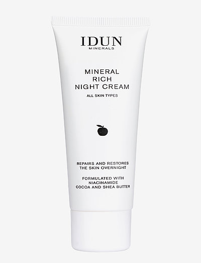 Mineral Rich Night Cream - kosteusvoiteet - clear