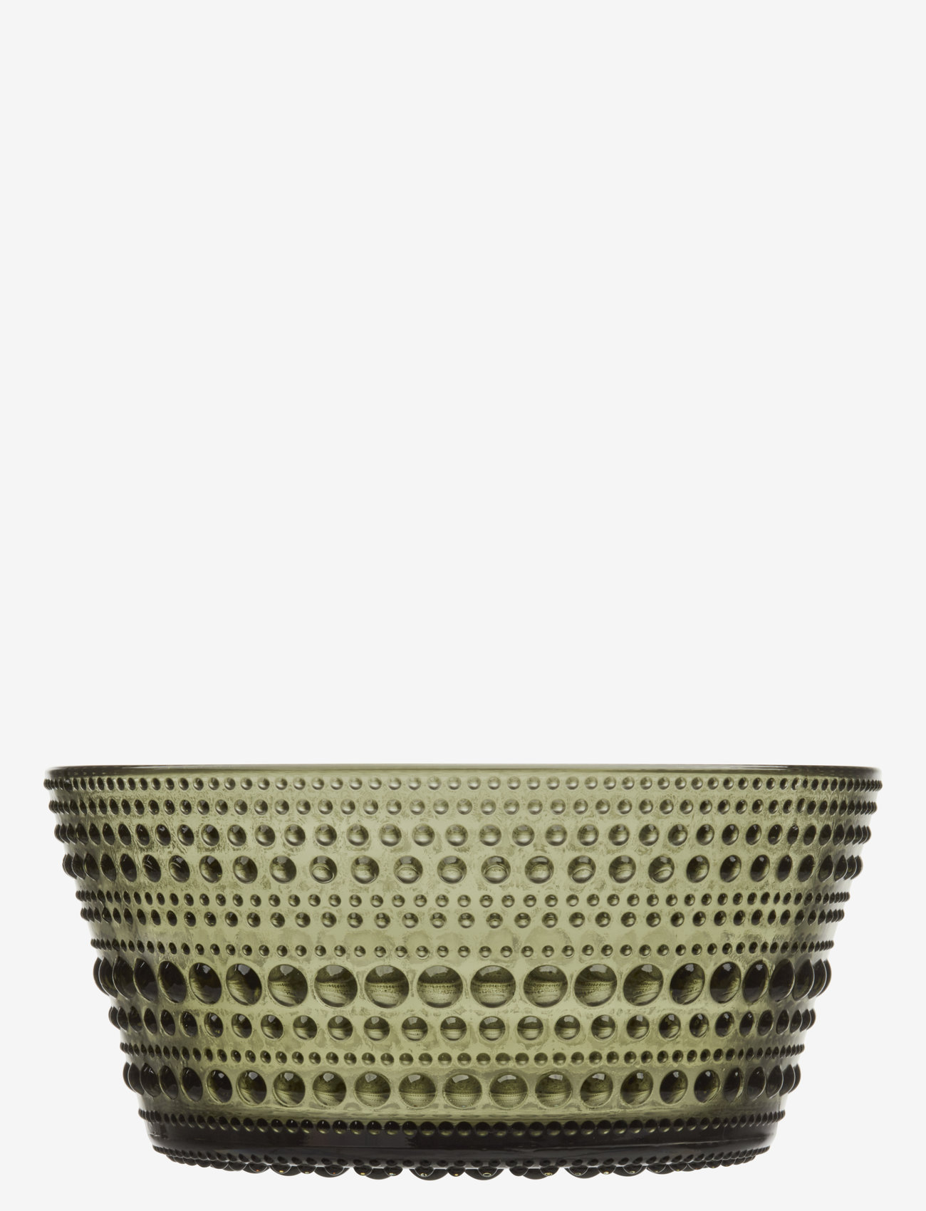 Iittala - Kastehelmi bowl 23cl - osta hinnan perusteella - moss green - 0
