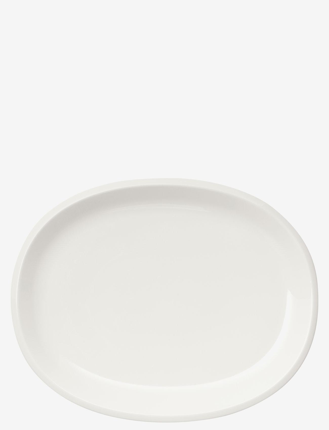 Iittala - Raami serveringsfat oval 35cm - serveringsfat - white - 0