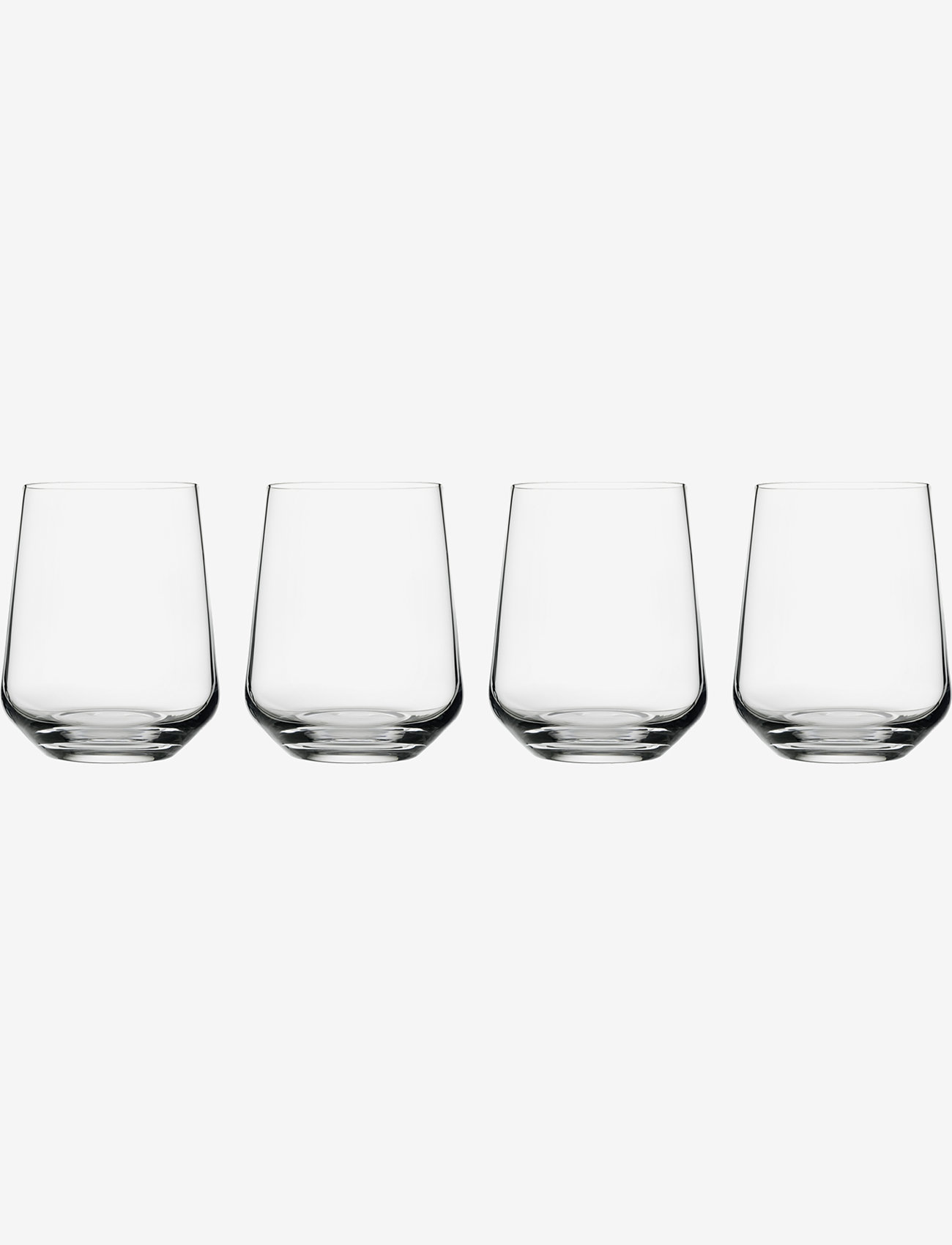 Iittala - Essence tumbler 35cl 4pcs - vannglass - clear - 0