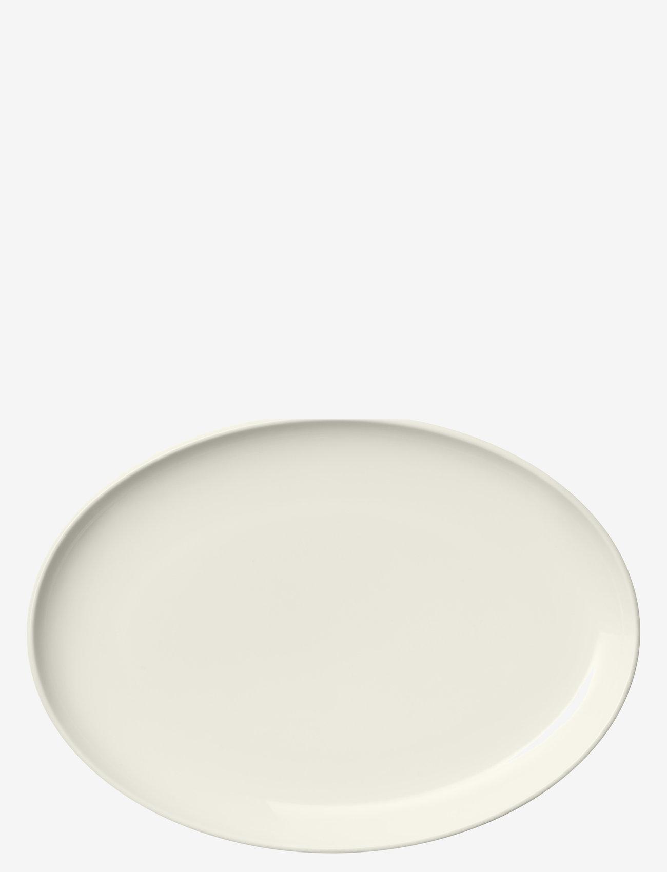 Iittala - Essence plate oval 25cm - tarjoiluastiat ja -lautaset - white - 0