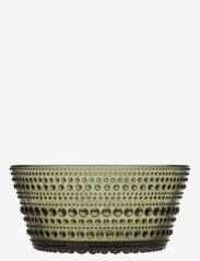 Kastehelmi bowl 23cl - MOSS GREEN