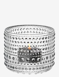 Kastehelmi  teal.candleh. 64mm - lyslykter - clear