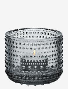 Kastehelmi  teal.candleh. 64mm - lyslykter - grey