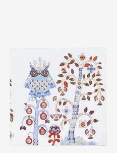 Taika paper napkin 33cm - servietter - white