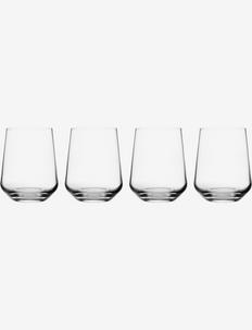Essence tumbler 35cl 4pcs - vannglass - clear