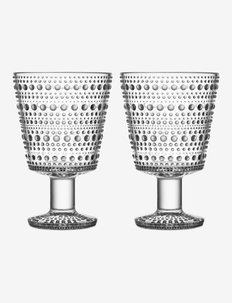 Kastehelmi universalglass 26cl 2-pk - vannglass - clear