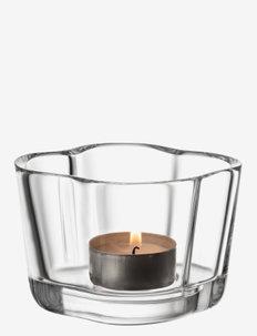 Aalto tealight candleholder 60mm - lyslykter - clear