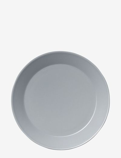 Teema plate - ruokalautaset - pearl grey