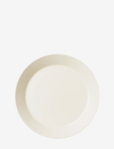 Teema plate - syvät lautaset - white