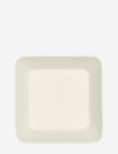 Teema plate 16x16cm - tarjoiluastiat ja -lautaset - white