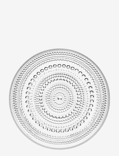 Kastehelmi plate 17 cm - ruokalautaset - clear