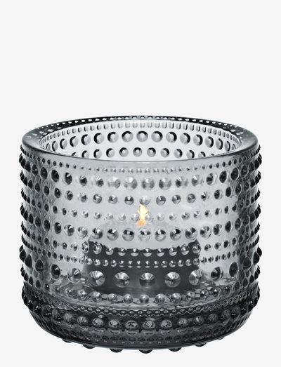 Kastehelmi  teal.candleh. 64mm - kynttilälyhdyt - grey