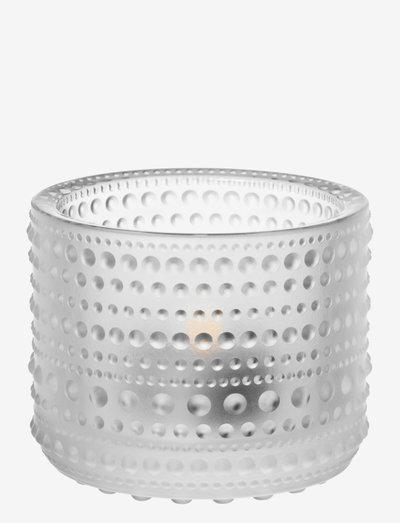 Kastehelmi  teal.candleh. 64mm - kynttilälyhdyt - frost