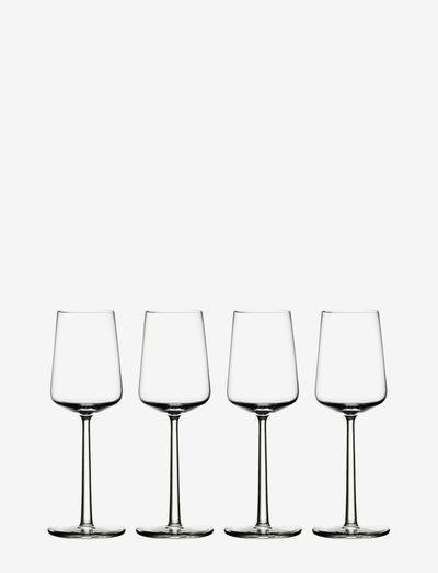 Essence wine glass 33cl 4pc - viinilasit - clear