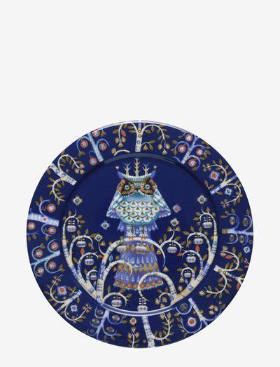 Taika plate 27cm - middagstallerkener - blue