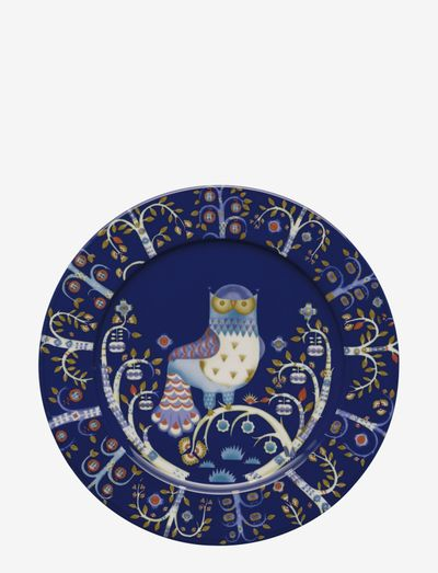Taika plate 30cm - middagstallerkener - blue