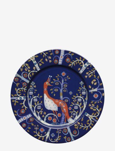 Taika plate 22cm - middagstallerkener - blue