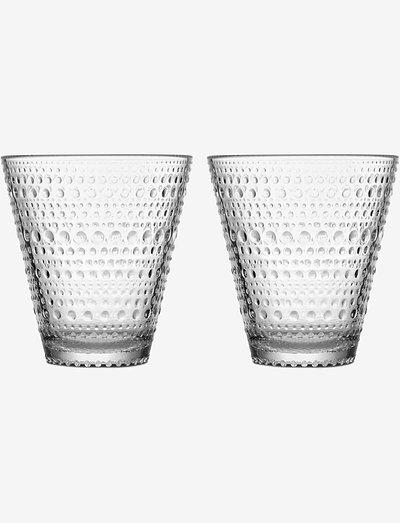 Kastehelmi tumbler 30cl 2pc - juomalasit - clear