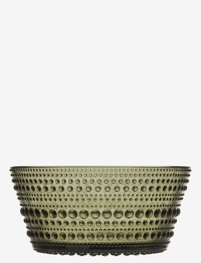 Kastehelmi bowl 23cl - osta hinnan perusteella - moss green