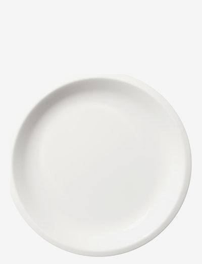 Raami tallerken 20cm - middagstallerkener - white