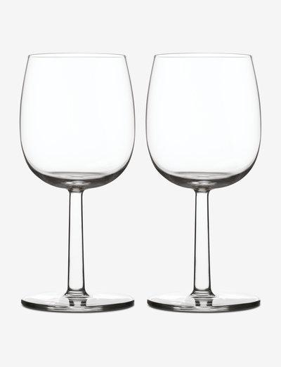 Raami rødvin 28cl 2-pk - vinglass - clear