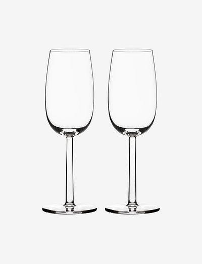 Raami champagne 24cl 2-pk - vinglass - clear