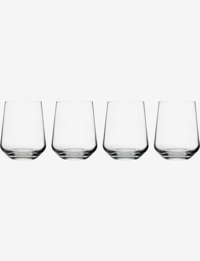 Essence tumbler 35cl 4pcs - juomalasit - clear