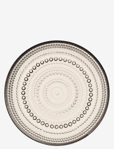Kastehelmi plate 17 cm - ruokalautaset - linen