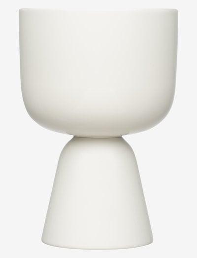 Nappula potteskjuler 230x155mm - blomsterpotter & krukker - white