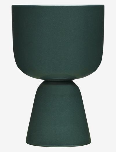 Nappula plant pot 230x155mm - ruukut - dark green