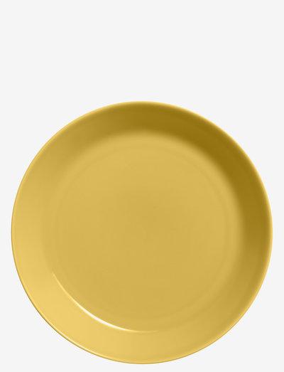 Teema plate - ruokalautaset - honey