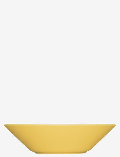 Teema plate - syvät lautaset - honey