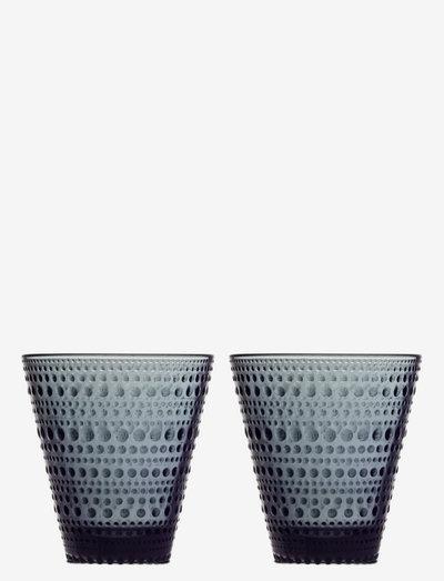 Kastehelmi tumbler 30cl 2pc - juomalasit - dark grey