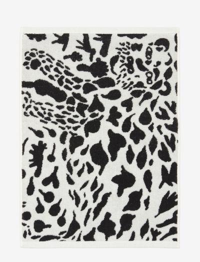 OTC bath towel 70x140cm Cheetah - håndklær & badelaken - black