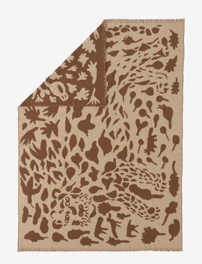 OTC blanket 180x130cm Cheetah - tepper & pledd - brown