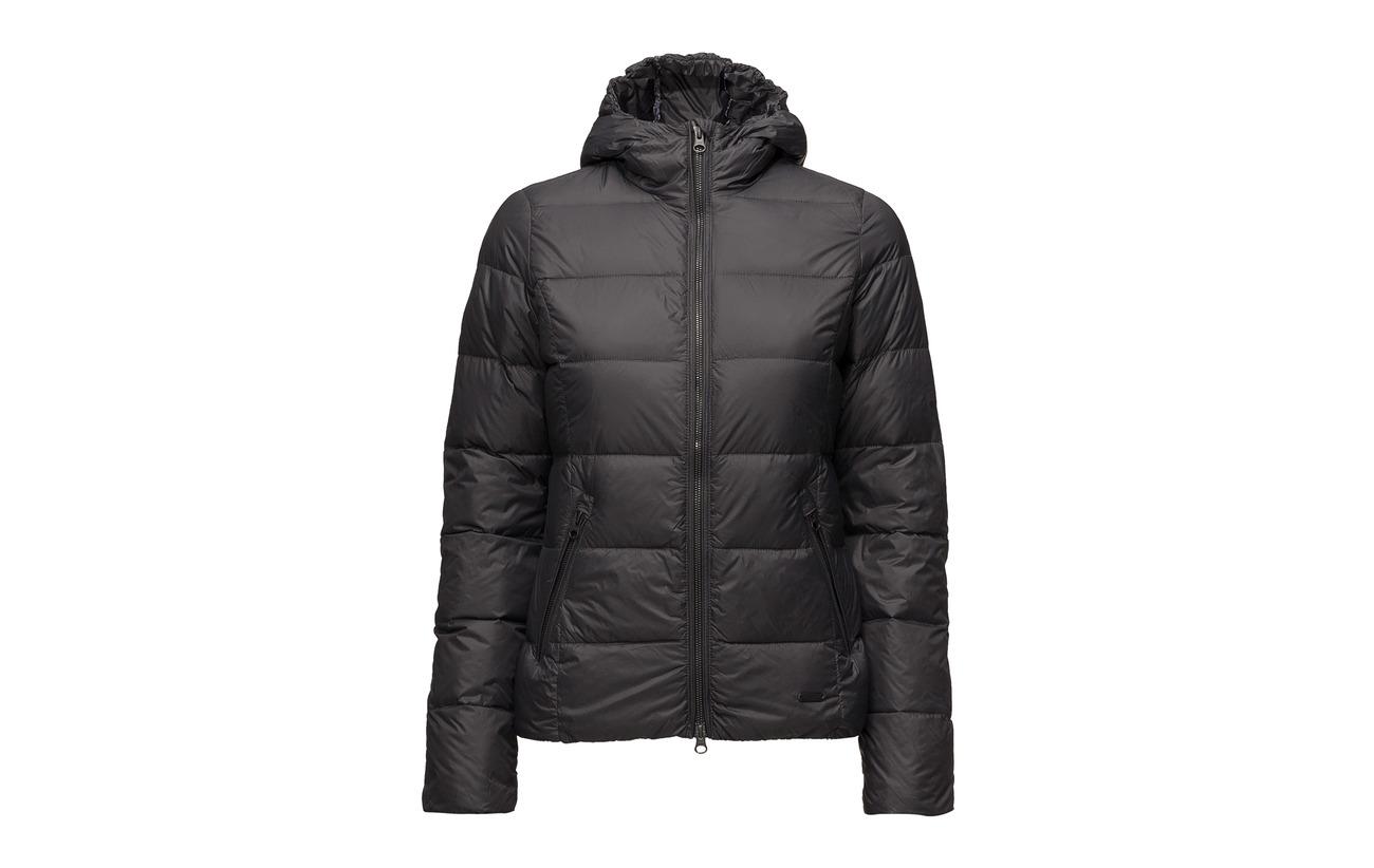 Nylon Équipement Intérieure Light Dark Antracite Doublure Ilse Jacobsen Down Jacket 100 gxwpzv
