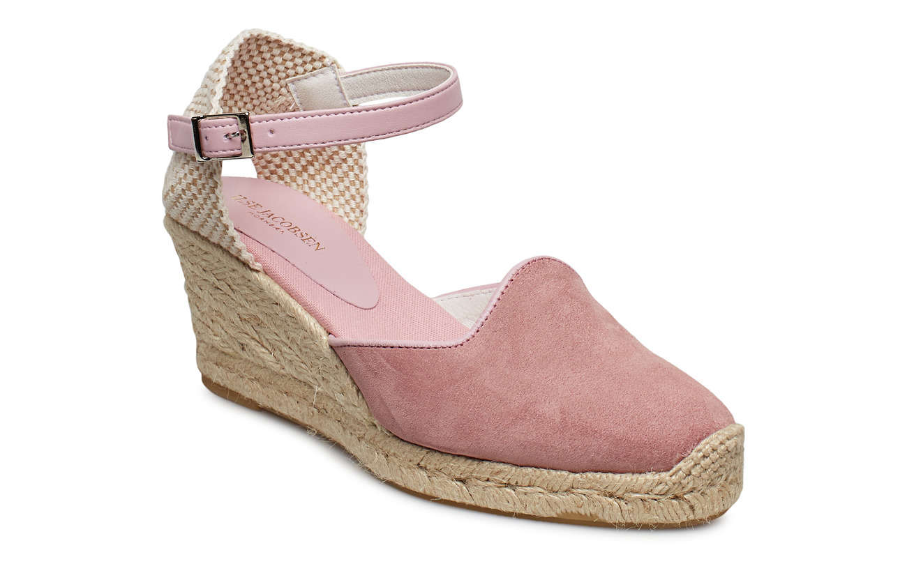 Ilse Jacobsen ESPADRILLE WEDGE - ROSE
