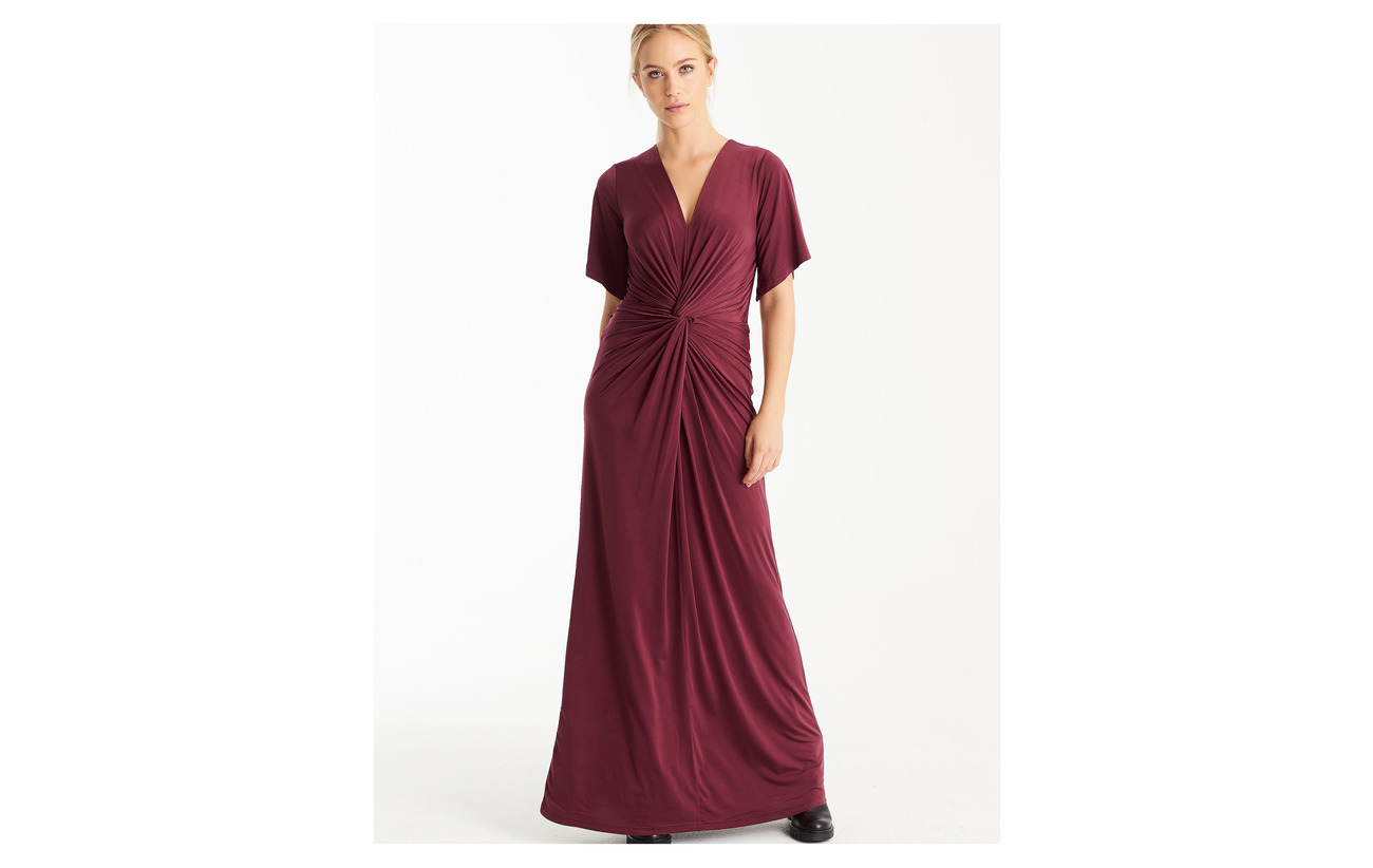 Jacobsen Ilse 5 Elastane 95 Long Dress Polyester Pine 6WfdfAqw