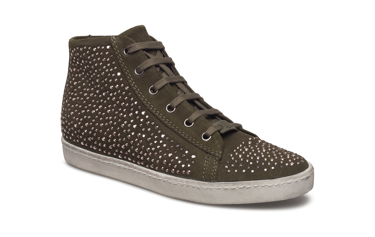 Ilse Jacobsen SNEAKER HIGH TOP - 410 ARMY
