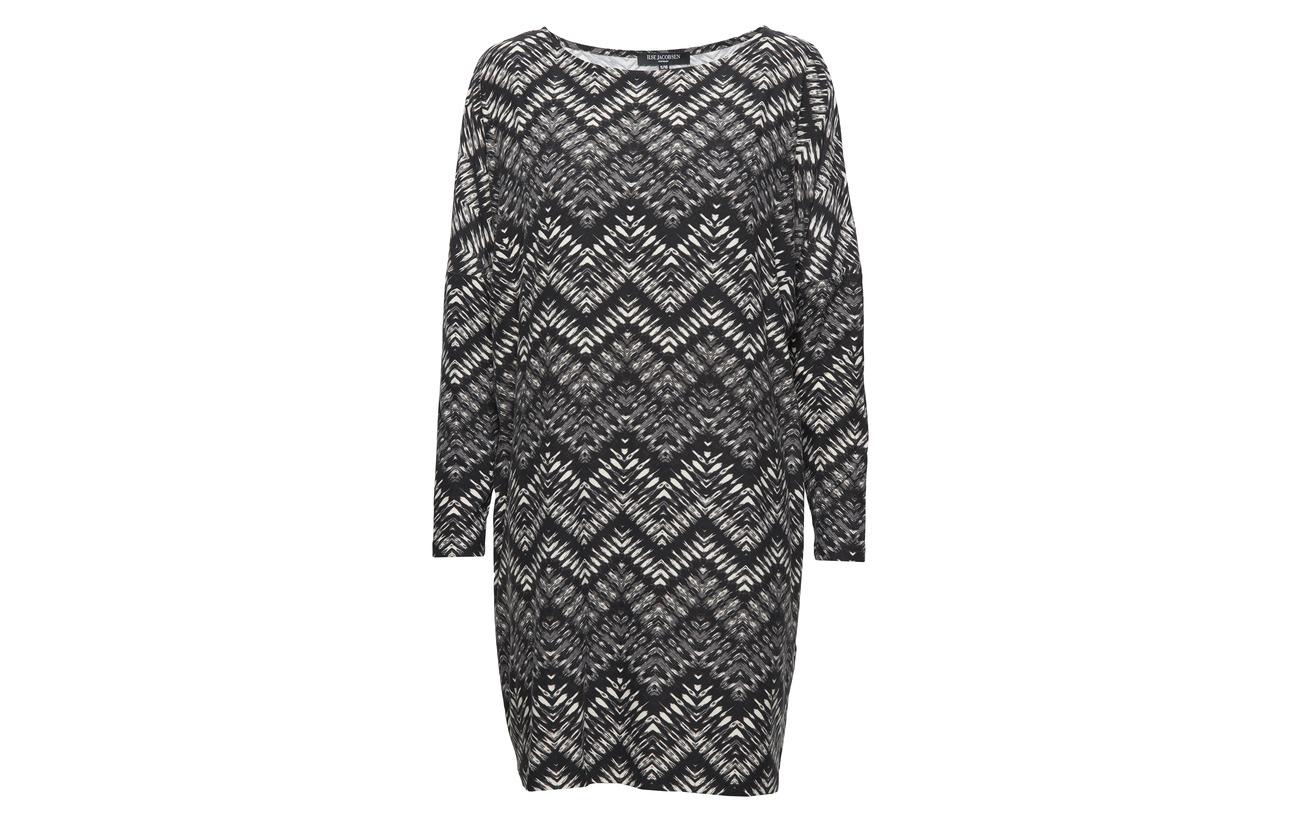 Polyester Ilse Elastane 95 Dress Jacobsen Blue 5 Grayness fX6XUwxq